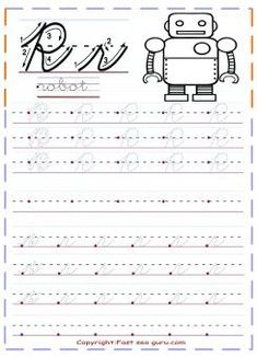 free printables cursive handwriting tracing worksheets letter r for robot for kids.free cursive tracing handwriting practice worksheets for kindergarten.kids learning activities worksheets for graders letter r for robot coloring pages. Teaching Cursive, Handwriting Practice Worksheets, Cursive Writing Worksheets, Handwriting Analysis, Tracing Worksheets, Lkg Worksheets, Kids Worksheets, Improve Your Handwriting, Cursive Letters