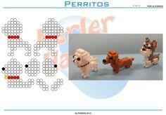 patrones hama beads placa hexagonal - Buscar con Google