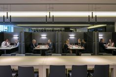 CBRE Offices – London. Project booths. Breakout area seating. Collaborative working. Agile working.