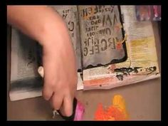 I love watching her create!  Check out her awesome butterfly tattoo she incorporates in this journal page.