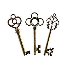 Amazon.com: Mixed Set of 30 Large Skeleton Keys with Antique Style Bronze Brass Skeleton Castle Dungeon Pirate Keys for Birthday Party Favors, Mini Treasure Toy Gifts, Medieval Middle Ages Theme