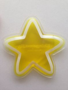 Thingamajig - Yellow Star gel pack. Available for purchase at: http://stores.ebay.com.au/Four-Jemms