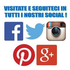 SCOPRI TUTTI I NOSTRI SOCIAL!!!