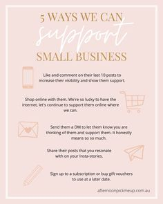 It's a tough time for everyone, particularly for small businesses that have to close down either temporarily or permanently. Here are some ways we can help love and support our local small businesses during the COVID crisis.