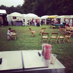 We took this pic just as we finished setting up at the annual Armonk Outdoor Art Show in Armonk, NY. I have lived in Westchester most of my life, and this event remains my favorite. You will always find a Penny Lick cart here!