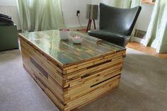 Couchtische - Couchtisch, Loungetisch, Loftmöbel aus Holz - ein Designerstück von FranK-Klose bei DaWanda