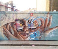 Street Art (Best of. Street Wall Art, Street Art Graffiti, Amazing Street Art, Amazing Art, Awesome, Sidewalk Chalk Art, Art Deco, Mural Art, Murals