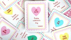 Skip the expensive cards and print your own Valentines this year