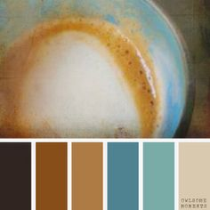 Yesterday, while I was having my owlsome cappuccino I got so inspired with the colors in it, I decided to make a swatch. Here is my first attempt at it. Hope you enjoy it as much as I do! DD