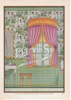 56-art-deco-bathroom.jpg (708×1000) Decorative Draperies & Upholstery by Edward Thorne Descriptive text by Henry W. Frohne Publisher: Garden City Publishing Co., Inc., New York ---1937---