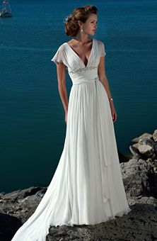 Gorgeous. I can just picture a classic movie star in this gown.