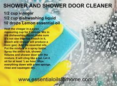 cleaning World's best shower and shower door cleaner. How An Area Rug Can Make The Perfect Room Acce Glass Shower Door Cleaner, Best Shower Cleaner, Glass Shower Doors, Glass Showers, Essential Oils Cleaning, Household Cleaning Tips, Cleaning Hacks, Natural Cleaning Recipes, Best Cleaning Products