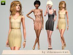 ILikeMusic640's Sparkle Dresses