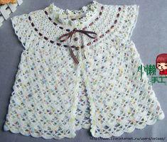 Dress robe on round yoke for baby crocheted / 4683827_20120630_153500_1_ (531x452, 196Kb)