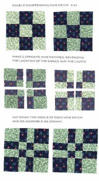 ...disappearing nine patch  (variation)