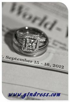 wedding rings vintage