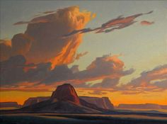 """Ed Mell """"Chinte Butte"""""""