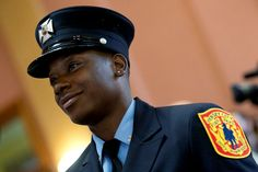 The Jersey City Fire Department made city history today when Tara Walker became the first black woman firefighter in the department's 143-year history.