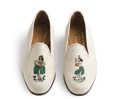 A Hula Party for Your Feet - J.Crew - Cute, but way too expensive!!!  Can someone make them cheaper? - 3/14