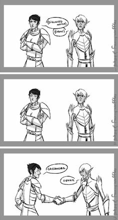Because in my cannon, Fenris would never let Hawke go anywhere alone. NEVER! <-Dido