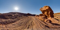 Valley of Fire, Nevada USA - 360° Panoramic Photography © Sam Rohn