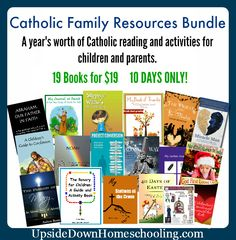 TODAY IS THE LAST DAY FOR THIS GREAT DEAL!!! Catholic Family Resources Bundle
