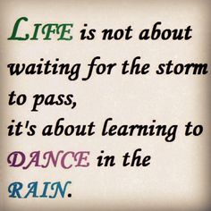 Enjoy life. #Fridayquotes Its Friday Quotes, Learn To Dance, Dancing In The Rain, Quotable Quotes, Learning, Instagram Posts, Life, Teaching, Studying