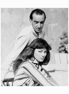 Emilio Pucci with Ivy Nicholson in 1955. Ivy Nicholson later became one of the stars of Andy Warhol's The Factory. Collection Pucci Archive