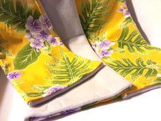 3 Piece Ferret Nation Ramp Cover Set Yellow Lavender Hawaiian Flower FN Midway   eBay