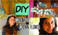 DIY: Corona de Flores Crown Flowers