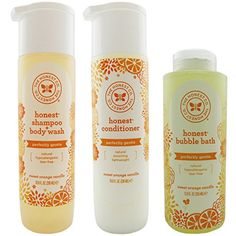The Honest Company Shampoo  Body Wash Conditioner and Bubble Bath Variety Pack >>> Read more reviews of the product by visiting the link on the image.
