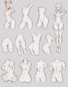 Tipos de poses de anime inspiração para desenhar