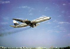 Delta Air Lines CV-880 departing Atlanta