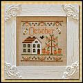 Cottage of the Month October - Cross Stitch Pattern Country Cottage Needleworks