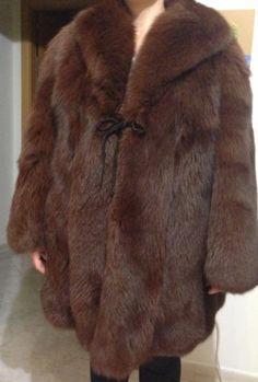 Pelliccia-di-volpe-rossa-a-pelo-lungo-taglia-Long-hair-red-fox-fur-Made-in-Italy