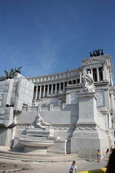 Monument to Vittorio Emanuele II, Piazza Venezia, Rome, Italy