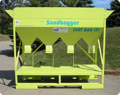 4 Chute Gravity fed Sandbagger!