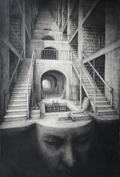 'Library Head' by Paul Rumsey. I often get lost.
