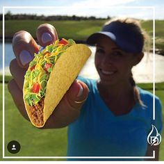 Today is the day! I am officially announcing...TACO TUESDAY...The day where tacos and bad taco puns take over sports. @nikkibgolf #golf #tacotuesday #tacoinspiration