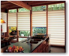 For this house - patio doors, dining room, living room