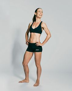 """""""Strong abs tell me that a person is really taking care of his or her body."""" - Tricia Schafer, 43, Phoenix #myrunnersbody"""