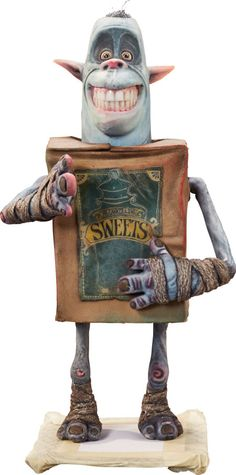Animation Art:Maquette, The Boxtrolls Sweets Original Animation Puppet (LAIKA,2014).... Image #1