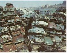 Classic Trucks, Classic Cars, Junkyard Cars, Wrecking Yards, Scrap Car, Fiat 850, Plymouth Valiant, Rust In Peace, Trucks