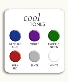 Colors for Cool Skintones
