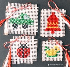 123 Cross Stitch, 8 Martie, Nature Crafts, Crochet Patterns, Christmas Ornaments, Holiday Decor, Handmade, Golden Age, Opera