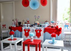 Party of 11: Tempting Fate: A Thing 1 and Thing 2 Baby Shower