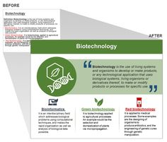 Biotechnology Presentation Slide