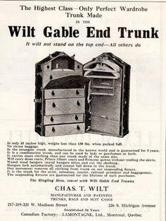 Circus Wardrobe Trunk