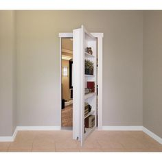 Have you always wanted your own secret passage or hidden door system like that bat cave? Well now you can with the Flush Mount Bookcase Door from The Murphy Door, Inc. Hidden Door Bookcase, Bookshelves Built In, Bookcase Closet, Door Design, House Design, Murphy Door, Interior Closet Doors, Hidden Rooms, Secret Rooms