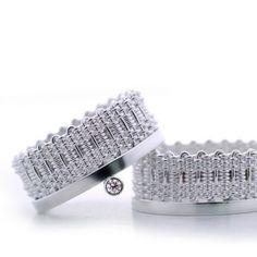 Crown Pair rings by Mackenzie Law